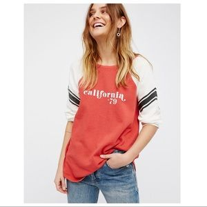 Free People | College Dreamin' Pullover